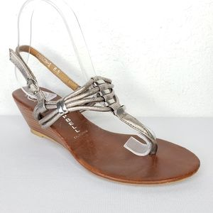 Jeffrey Campbell Cannon 2S lingback Wedge Sandals